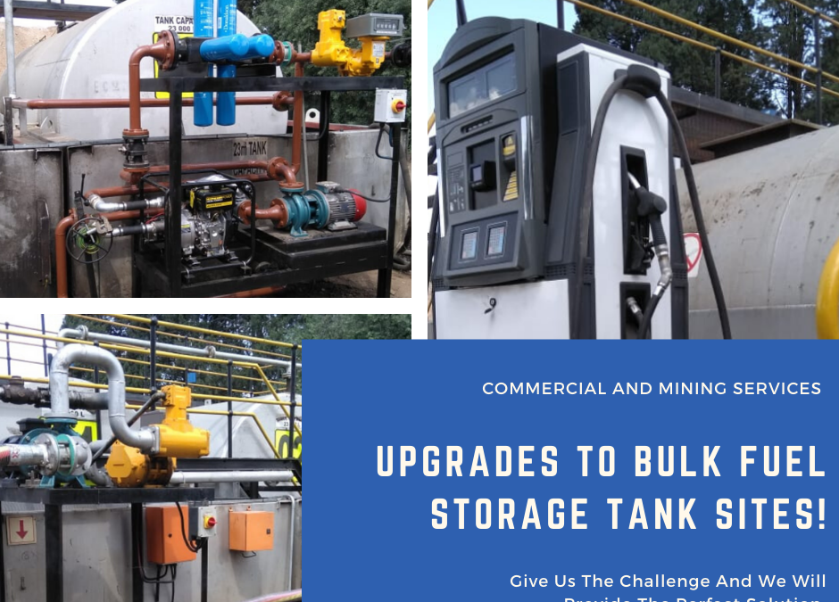 Your Leading Bulk Fuel Storage Solutions Company!